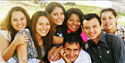 Photo of some of ICC's older kids who are attending college in Central America