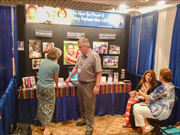 Photo of of ICC booth at the 2013 ASI convention.