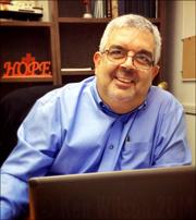 photo of Jose Agusto new PR director for ICC ©Ken Wilson 2014