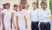 photo of the children baptized in India