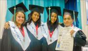 photo of the four graduates