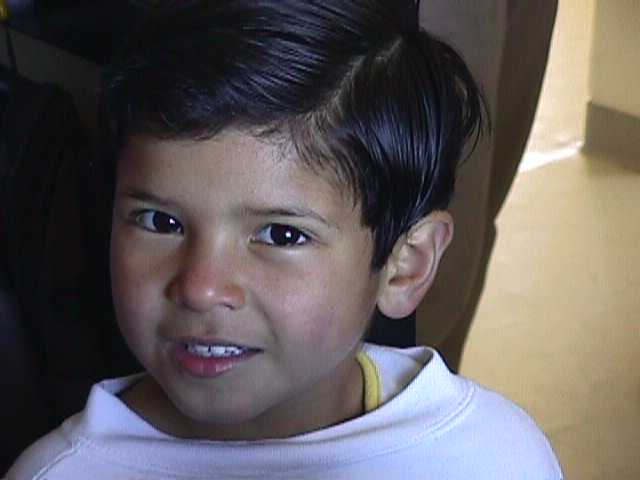 Ricardo, a child that grew up El Oasis Children's Village.